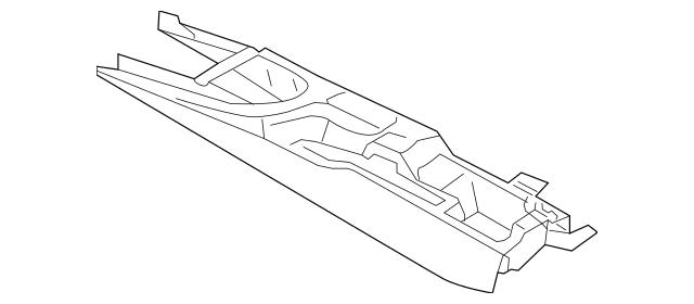 OEM Porsche Center Console Part# 997-553-901-03-A03 Fits