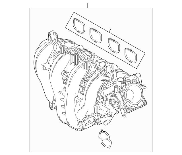 2003-2007 Ford Focus Intake Manifold 3S4Z-9424-AH