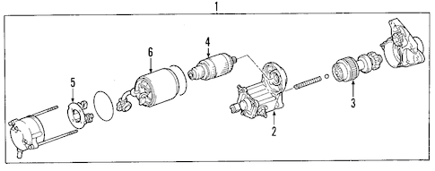 Genuine OEM Toyota Starters and Alternators Parts