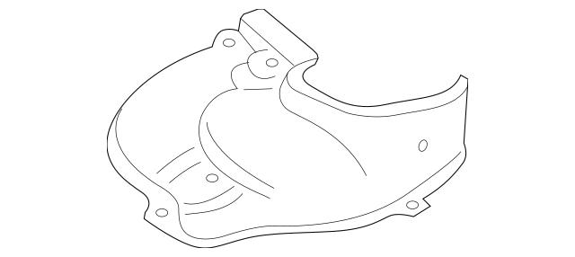 OEM Subaru Exhaust Manifold Heat Shield For 2004-2008