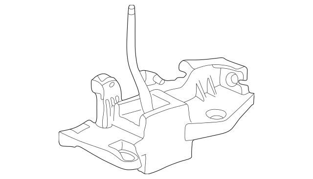 2000-2006 Honda INSIGHT Lever Sub-Assembly, Change 54100