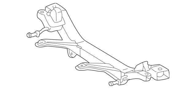 2000-2005 Toyota Celica Suspension Cross-Member 51206