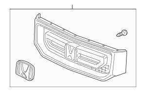 2012-2014 Honda RIDGELINE SEDAN Grille Assembly, Front