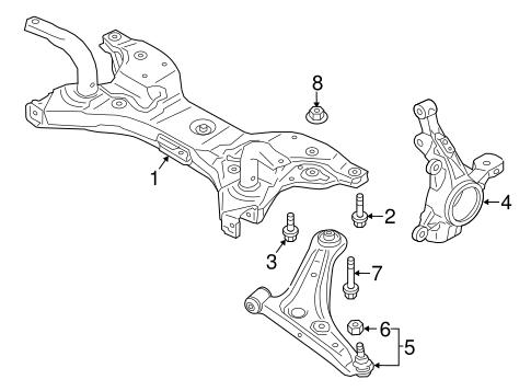 Suspension Components for 2014 Mitsubishi Mirage