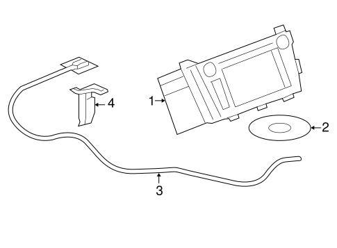 Navigation System Components for 2008 Buick Lucerne