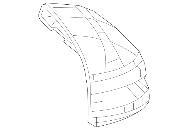 2012-2013 Honda CIVIC HYBRID SEDAN Cap, Left Skull *g534m