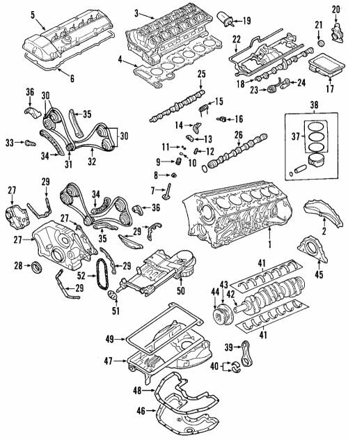 small resolution of genuine bmw timing chain 11 31 8 618 318