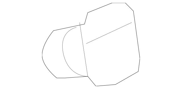 Genuine 2007-2011 Honda CR-V 5-DOOR Lid, Fuel Filler 63910