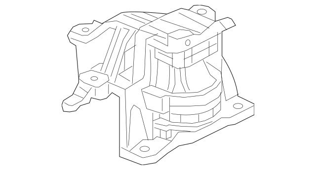 Honda Rubber Assembly, Transmission Mounting (Cvt) 50850