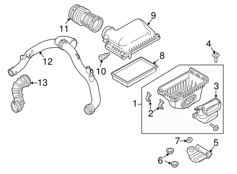 Air Intake for 2016 Ford Explorer