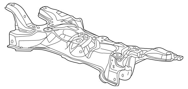 Honda Sub-Frame, Front Suspension (50200-SZT-G00