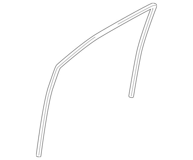 2007-2015 Mazda CX-9 Run Channel TD11-59-605D