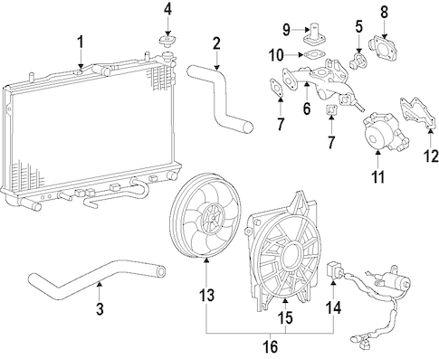 Service manual [How To Replace Thermostat 2007 Kia Rio