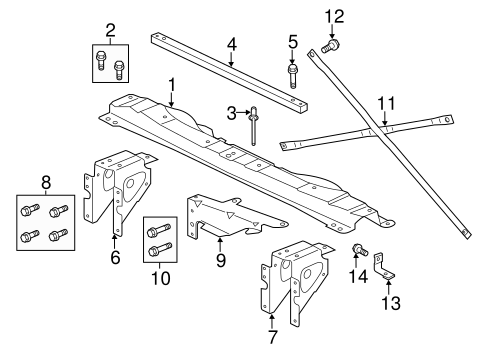 2003 Lincoln Navigator Rear Suspension Diagrams