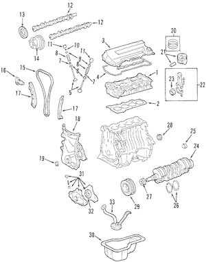 2005 Pontiac Vibe Engine Diagram / 2005 Pontiac Vibe Fuse