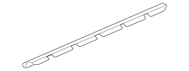 2005-2008 Acura RL SEDAN Seal, L Side Sill Garnish 71855