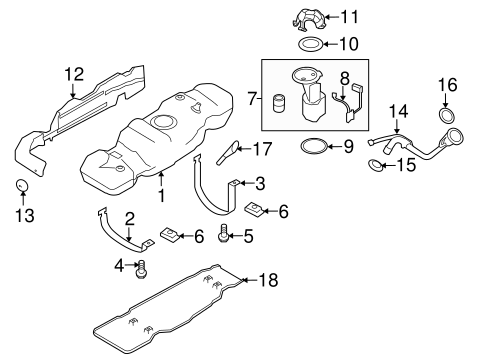 FUEL SYSTEM COMPONENTS for 2011 Ford F-150