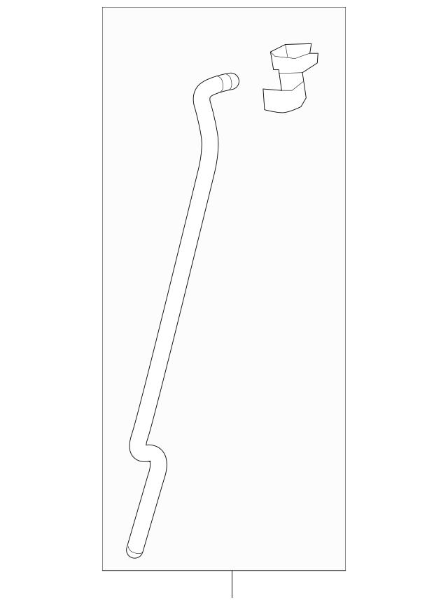 Genuine Honda Rod Set, L Rear Door Latch 72653-TLA-305
