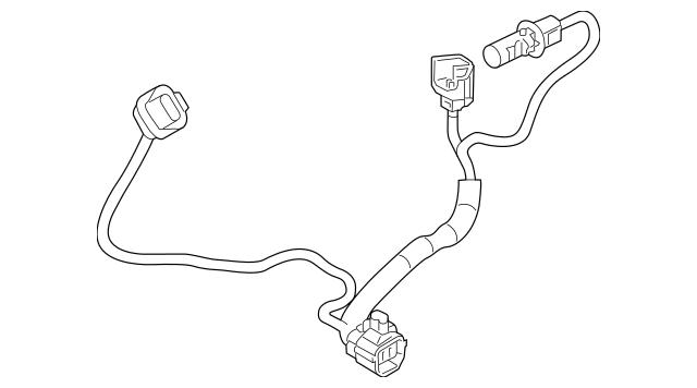 2014-2018 Mazda 3 Wire Harness BHN1-51-0K6A