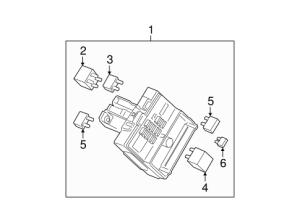OEM 2005 Buick LaCrosse Fuse & Relay Parts | GMPartsOnline