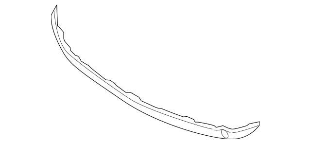 2007-2008 Hyundai Entourage Lower Grille 86516-4J000