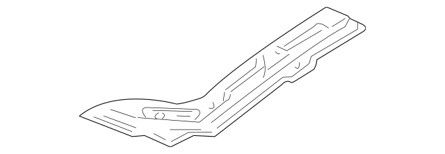 1999-2001 Acura TL SEDAN Insulator, Hood 74141-S0K-A00