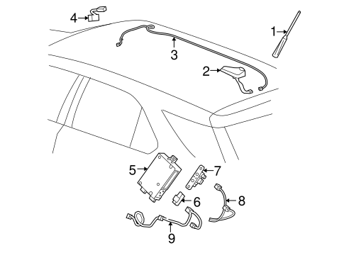 Communication System Components for 2015 GMC Terrain (SLT