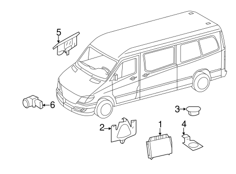 Electrical Components for 2013 Mercedes-Benz Sprinter 2500