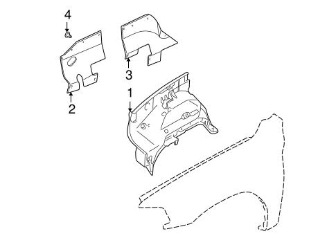 Inner Components for 1998 Mitsubishi Montero Sport