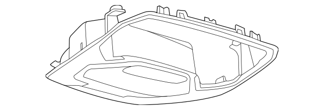 Buy this Genuine 2015-2019 Ford Escape Overhead Console