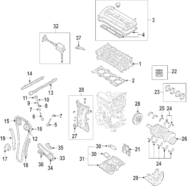 2003 Mazda 6 Timing Diagram Engine Lf