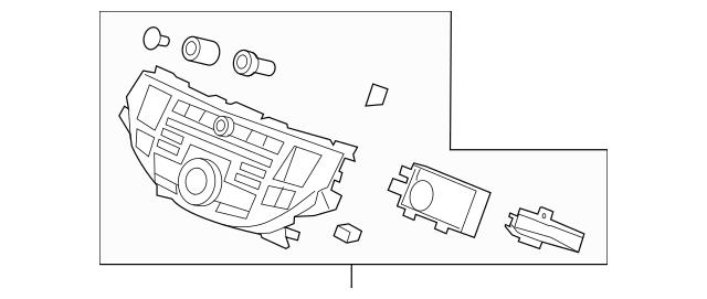 2008-2010 Honda ACCORD COUPE Panel *NH693L* (Gun Metallic