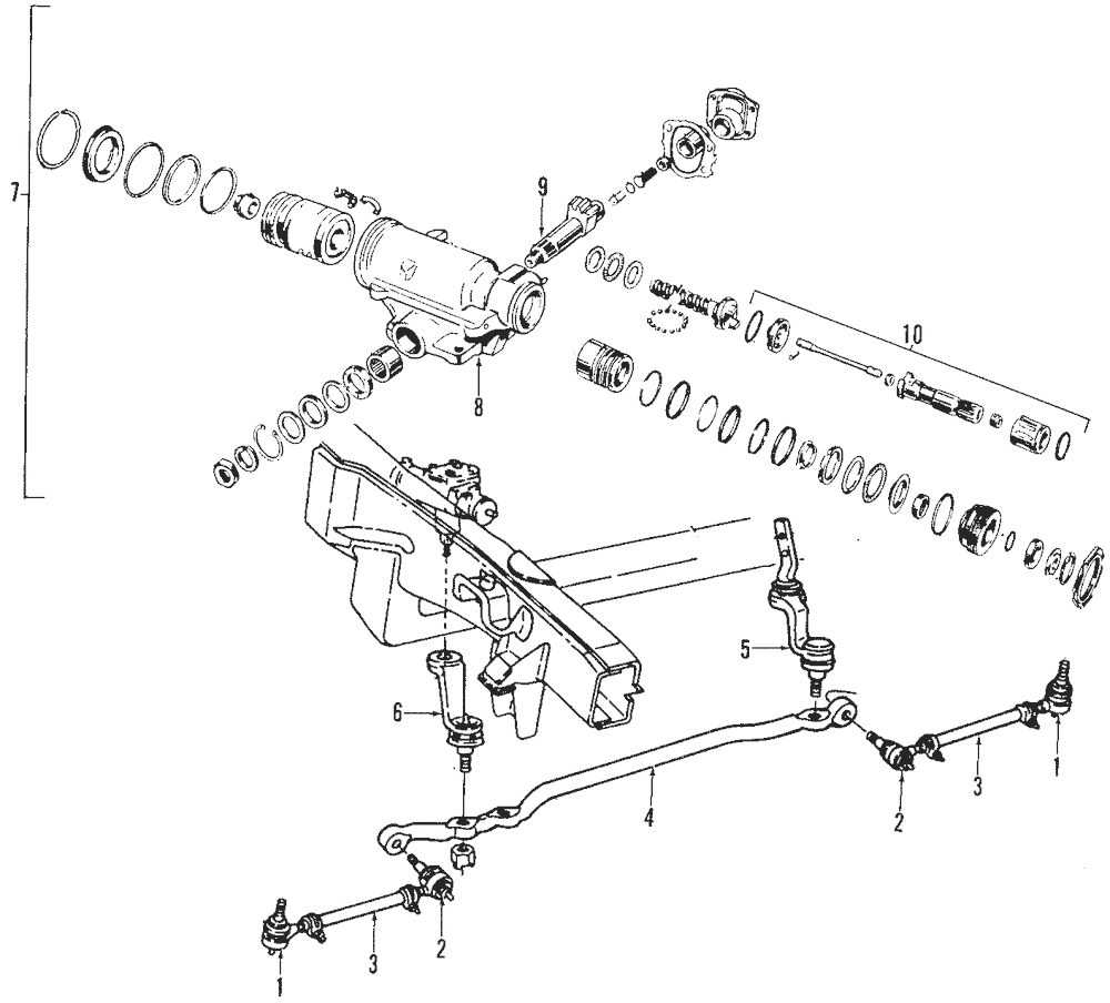 Genuine dodge dakota steering gear assembly r2004906ab ebay genuine dodge dakota steering gear assembly r2004906ab at dodge dakota tilt steering diagram