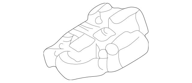 2000-2002 Toyota Celica Fuse & Relay Box 82741-20040