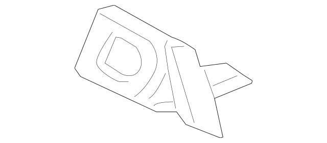 Genuine 2001-2004 Honda CIVIC COUPE Emblem, Rear (Dx