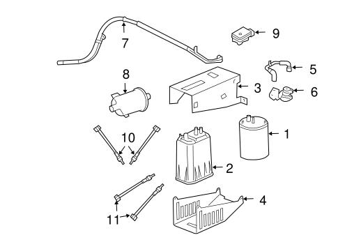 Emission Components for 2004 Dodge Ram 1500 Parts