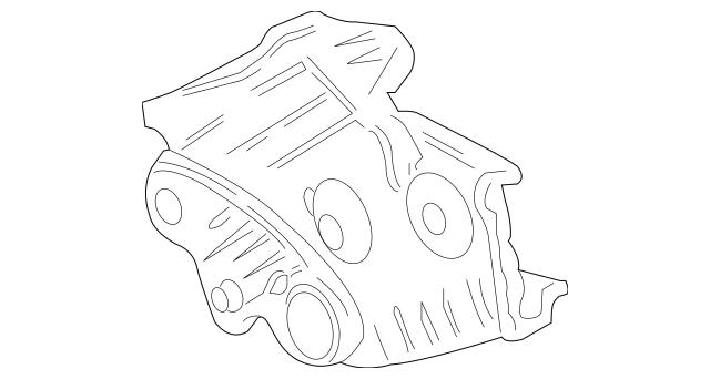 1996-2004 Acura RL SEDAN Cover, Timing Belt (Lower) 11810