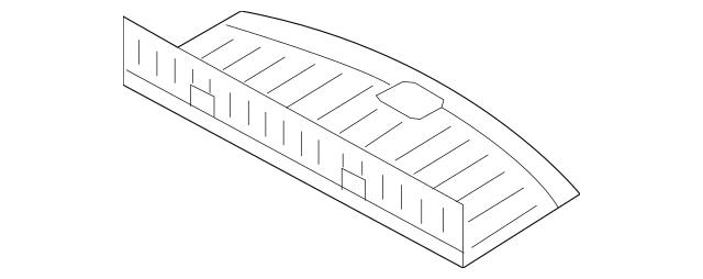 Genuine OEM Compartment Door Part# TD11-68-83XH-02 Fits
