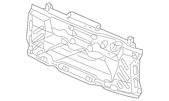 2003-2008 Honda ELEMENT 5-DOOR Tailgate (Lower) (DOT