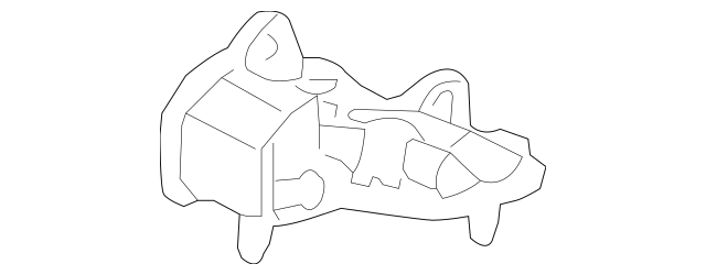 2007-2009 Acura Rubber Assembly, Transmission Mounting