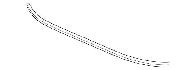 Honda Molding, Front Windshield (Lower) 73151-TVA-A01