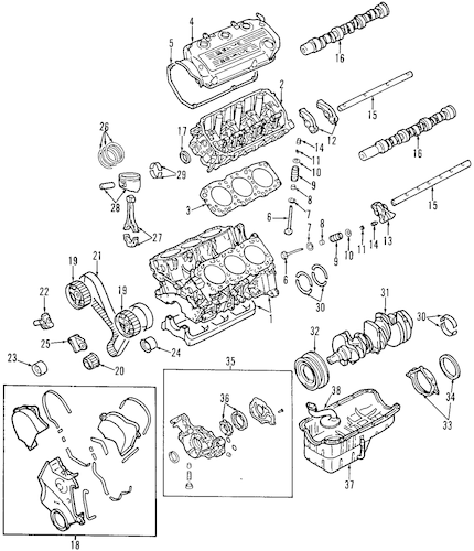 OIL PAN for 2000 Dodge Avenger