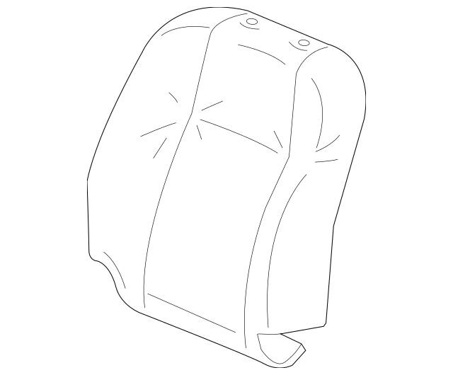 2014-2015 Honda Cover Set, R Trim *NH167L* (Side Airbag