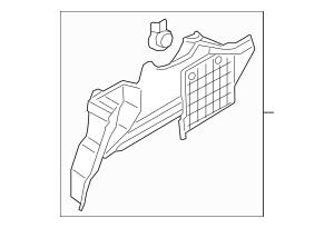 2014-2019 Lincoln MKZ Side Trim Panel HP5Z-5445423-BA