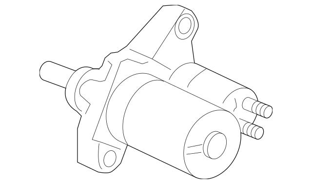 2007-2008 Acura TL SEDAN Starter Motor Assembly (MHG028