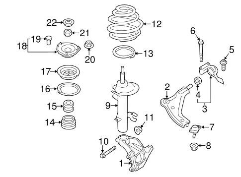 Suspension Components for 2012 Mini Cooper Countryman