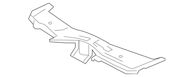 2008-2015 Mitsubishi Lancer Upper Tie Bar 5256A809