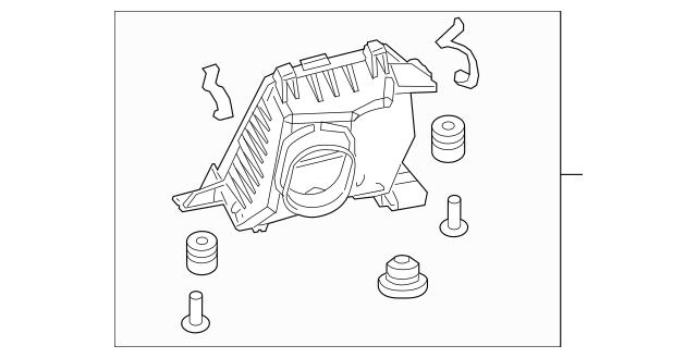 2015-2016 Honda CR-V 5-DOOR Case Set, Air Cleaner 17201