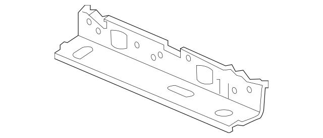Honda Stiffener, Rear Shelf (Front) 66501-TBA-A50ZZ