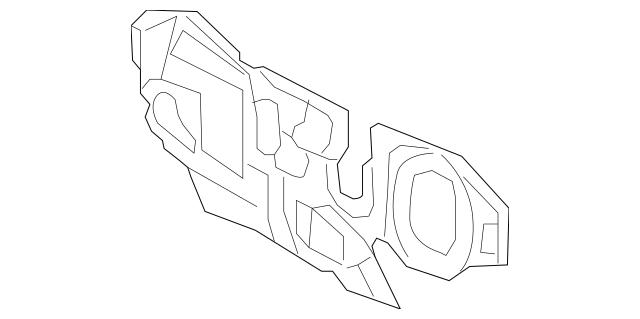 2013-2018 Toyota Avalon Front Insulator 55223-07040
